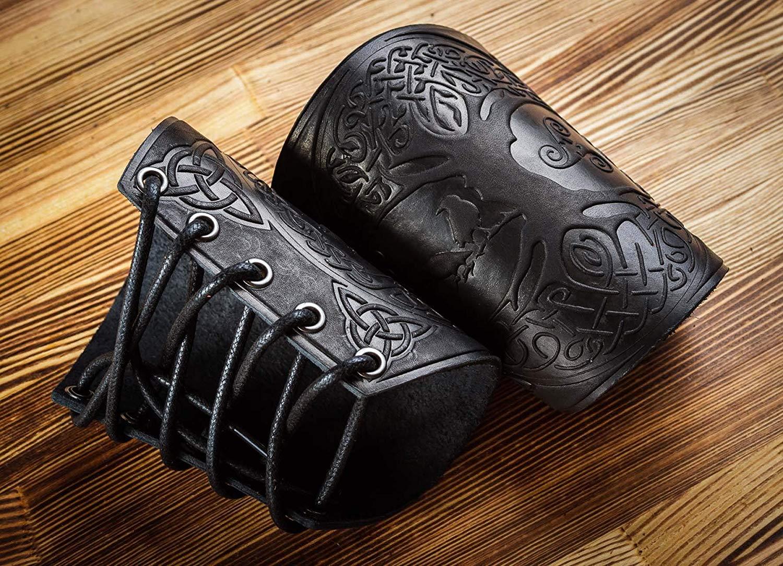 Leather Cuffs Bracers