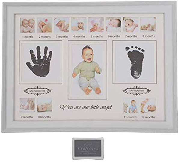 A foot and hand print kit