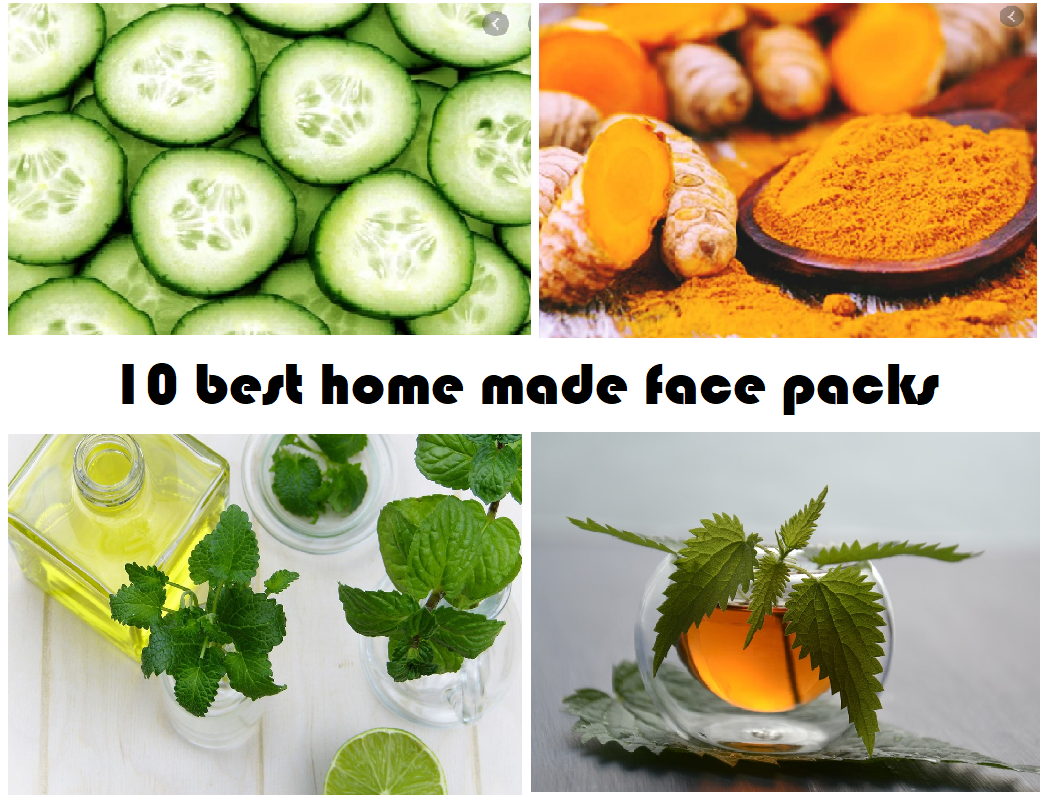 make face pack at home