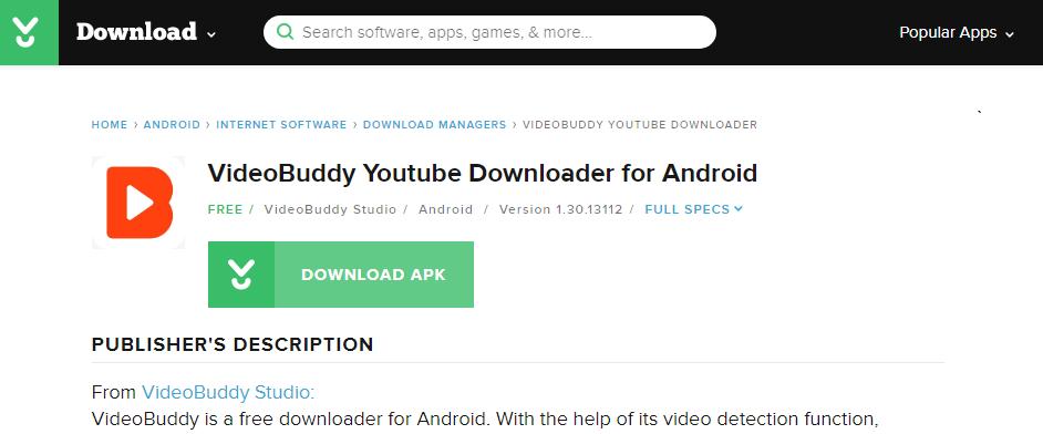 cnet videobussy apk download