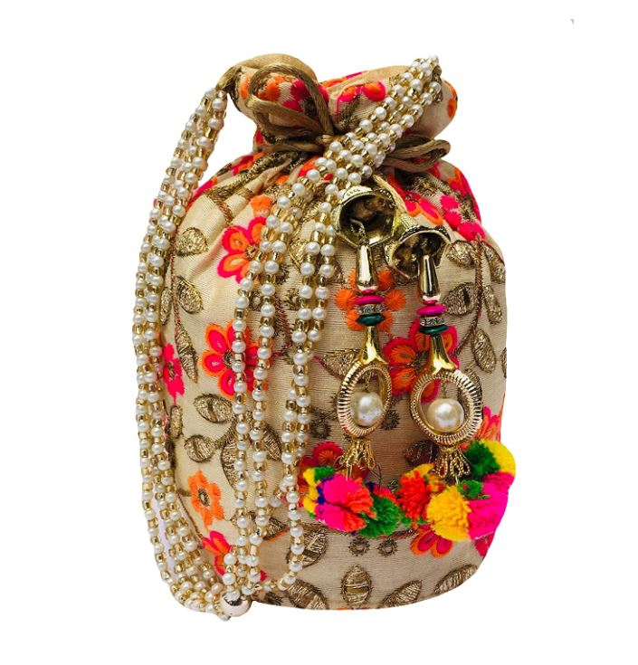 Womens Potli - traditional Indian gift item