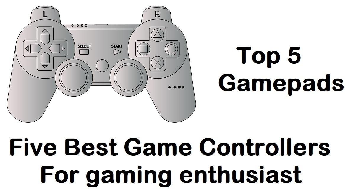 top 5 gamepads