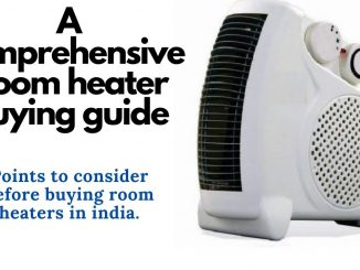 room heater buying guide