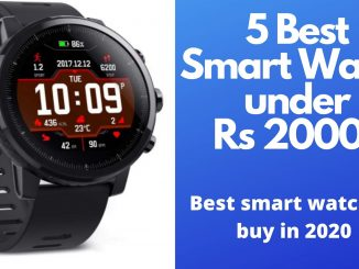 5 Best smart watch under Rs 20000